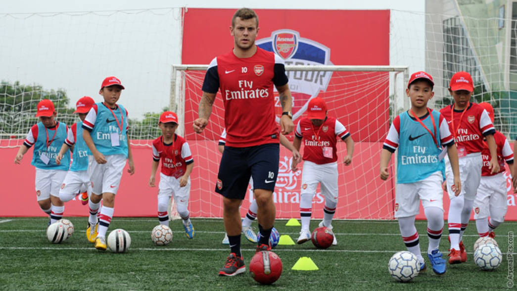 Emirates Soccer Clinic
