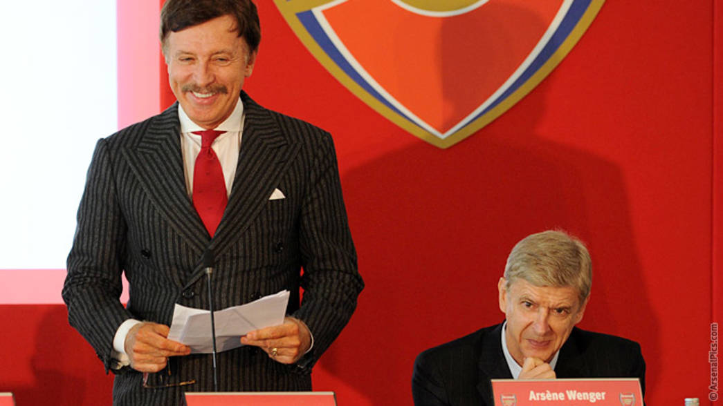 Stan Kroenke at the 2013 Arsenal AGM