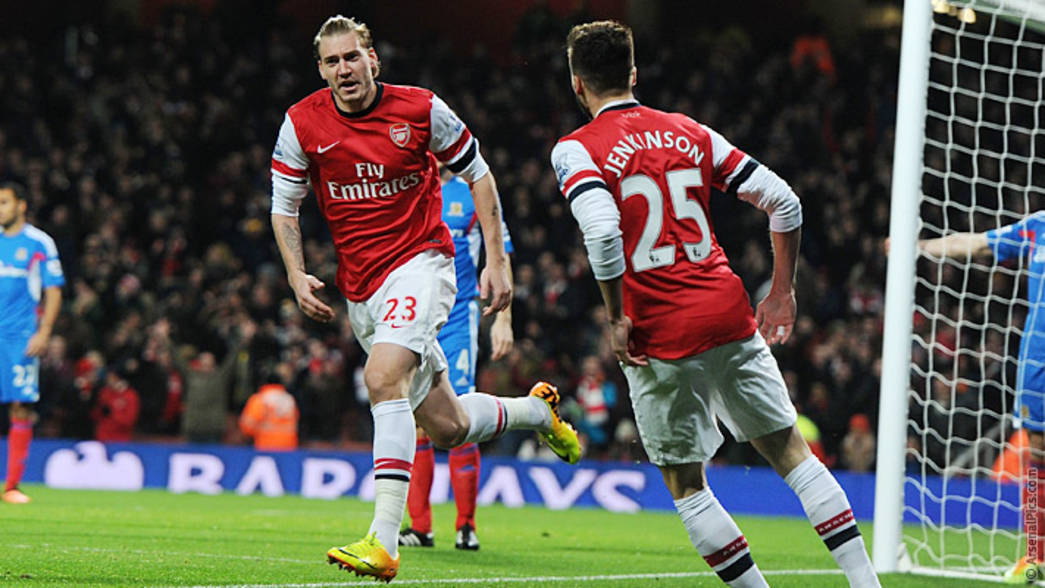 13/14: Arsenal 2-0 Hull City - Nicklas Bendtner