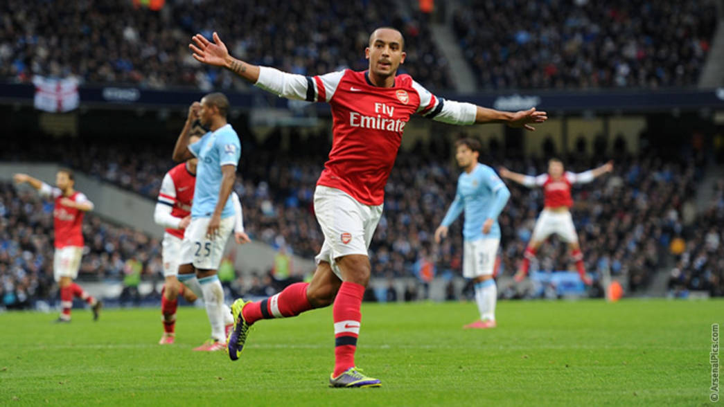 Image result for theo walcott city 6-3 arsenal