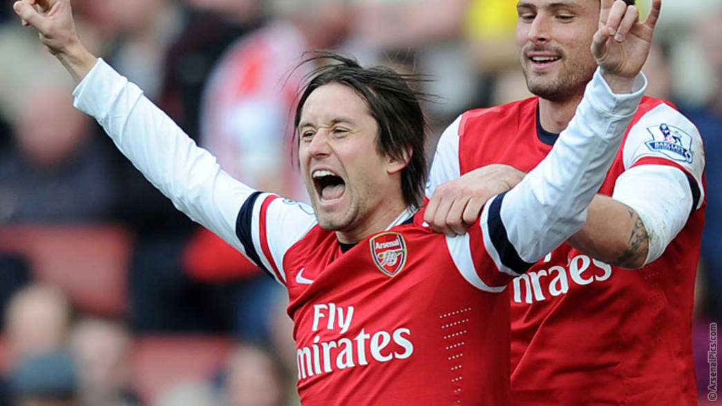 Rosicky wins Player of the Month award | News | Arsenal.com