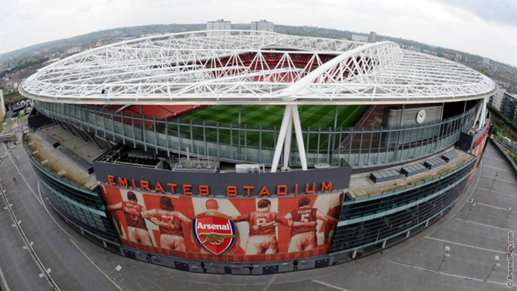 Znalezione obrazy dla zapytania Emirates Stadium
