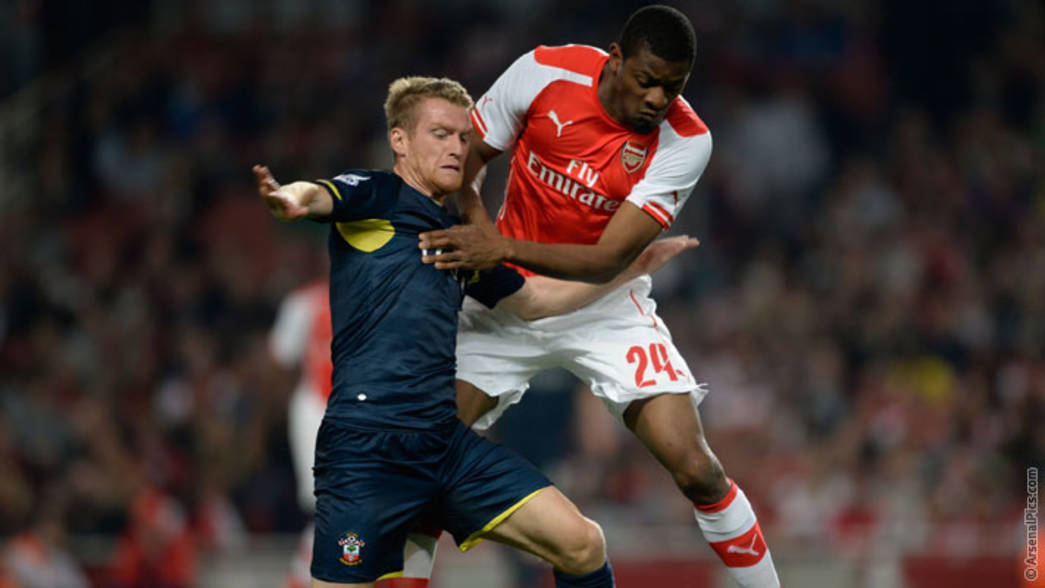 Abou Diaby on his return to the starting lineup