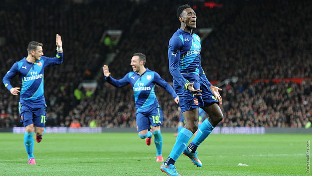 14/15: Manchester United 1-2 Arsenal - Danny Welbeck