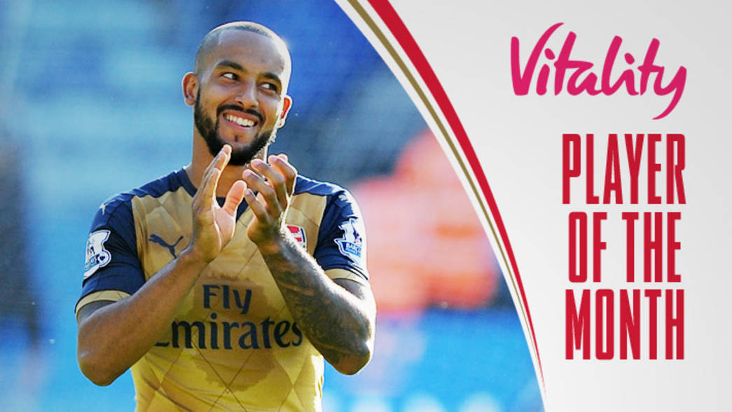 Player of the Month - Theo Walcott