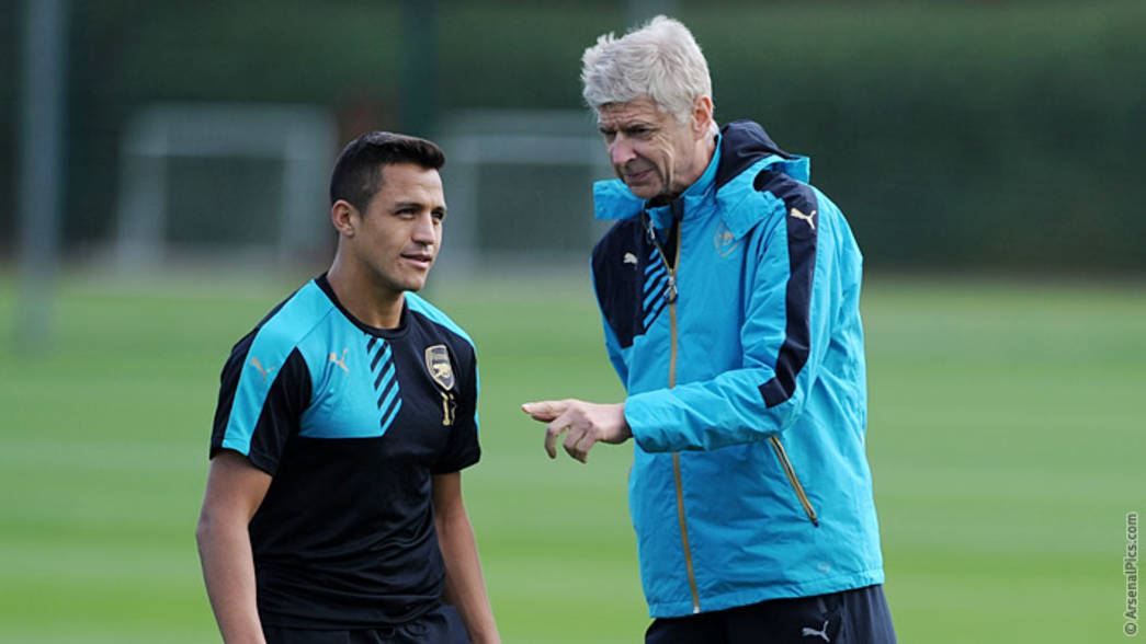 Wenger and Alexis