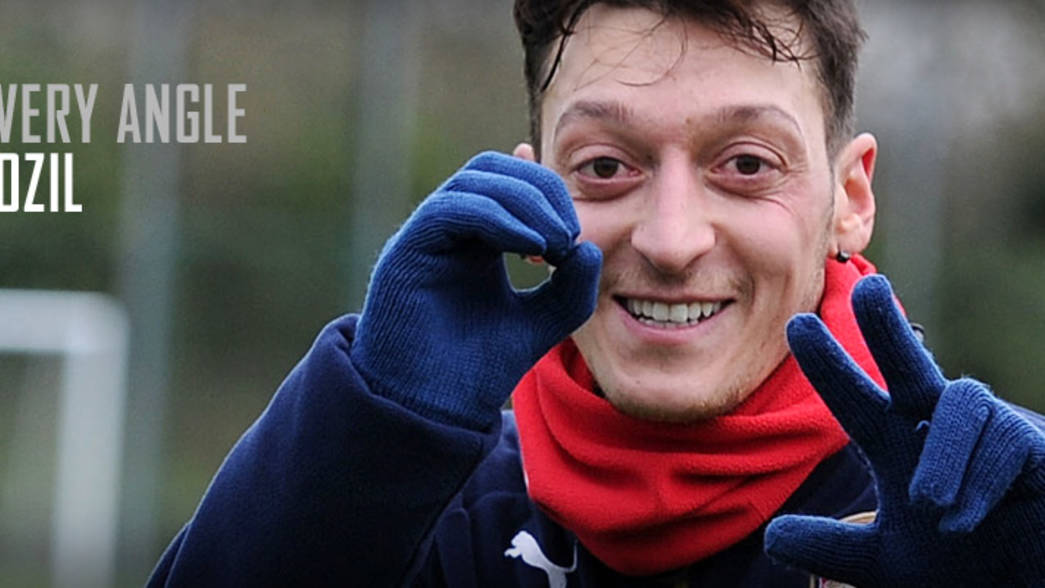 Mesut Ozil - From Every Angle