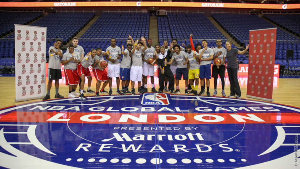 Arsenal in the community Basketball