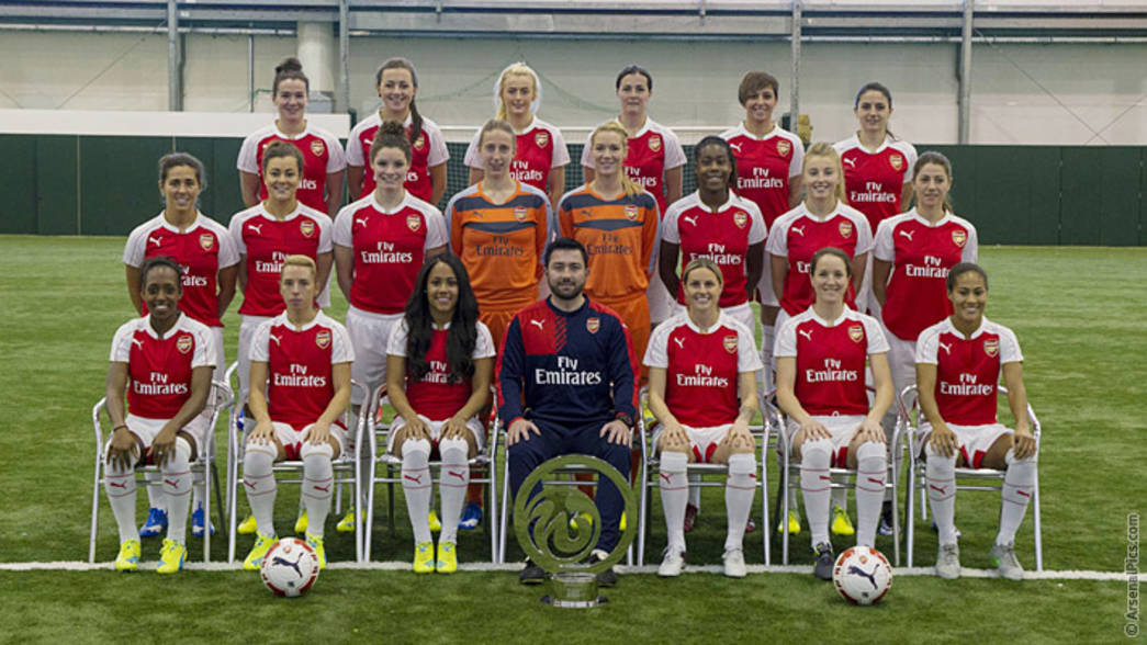 Arsenal Ladies Squad 2016/17