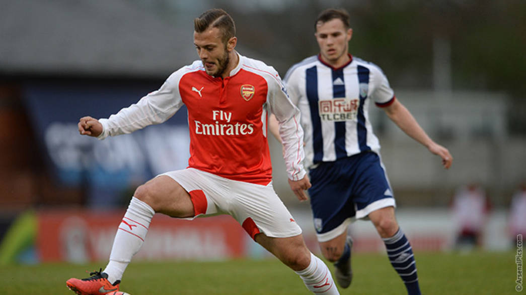 15/16: Under-21s v West Brom - Jack Wilshere