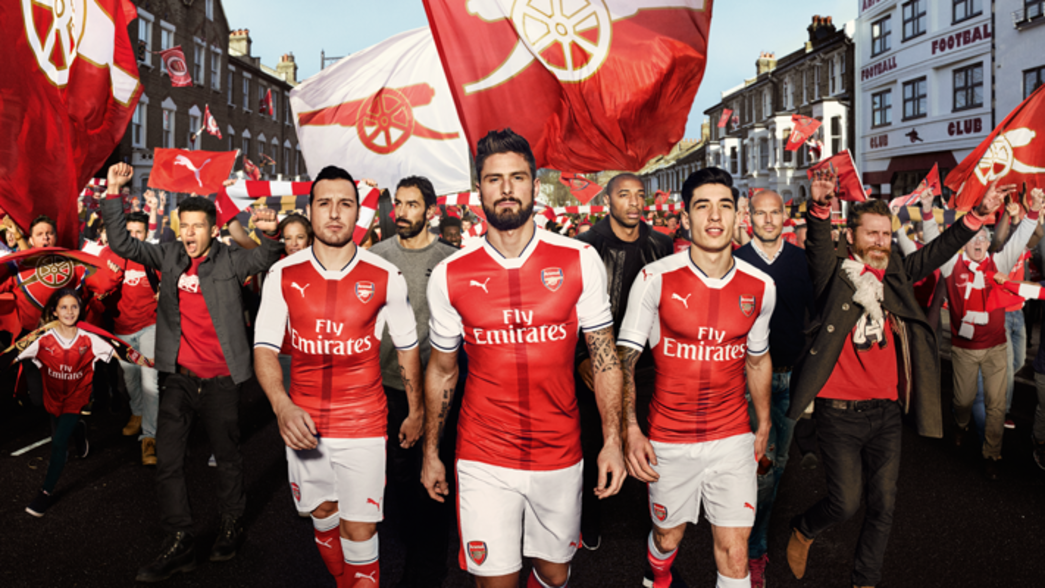 Arsenal Puma Launch Home Kit News 2016 17 3rd 1617