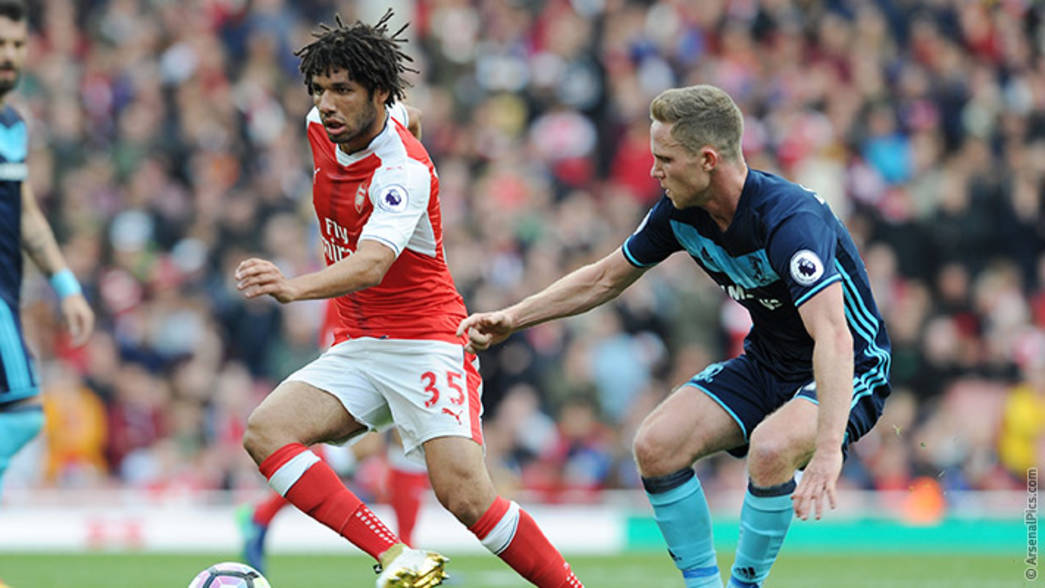 Mohamed Elneny v Middlesbrough