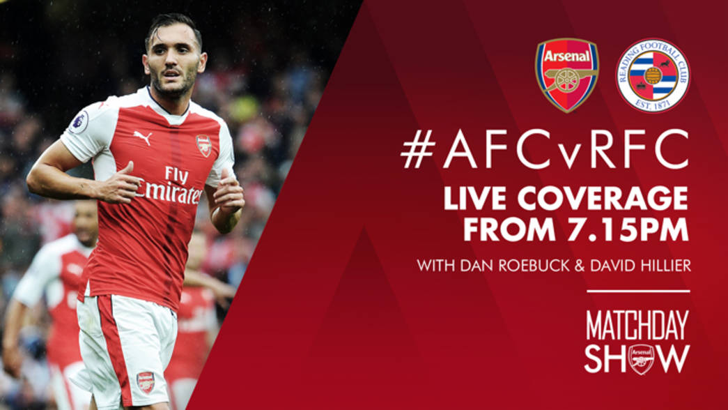 Arsenal v Reading - Matchday Show