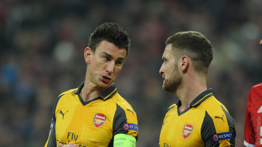 Laurent Koscielny and Shkodran Mustafi