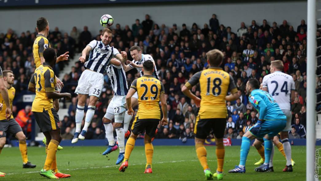 West Bromwich Albion 3 1 Arsenal Match Report Arsenal Com