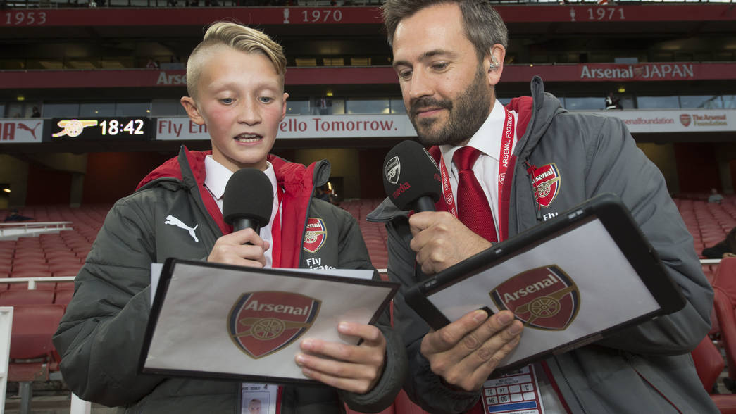 Feature on Sky Sports!   Event   News   Junior Gunners
