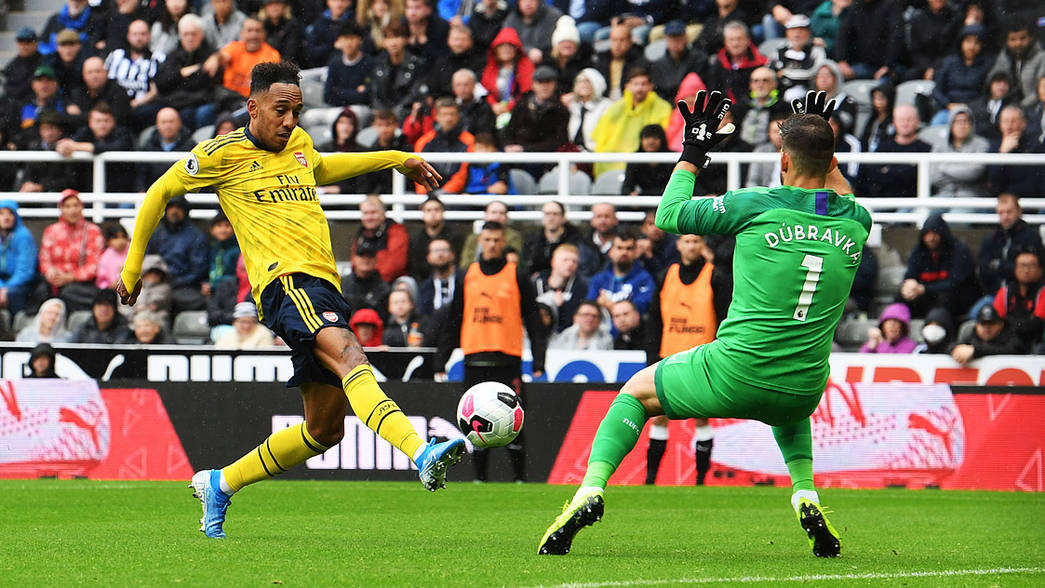 Aubameyang Reflects On Man Of The Match Display Interview News Arsenal Com