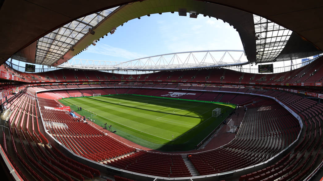 Emirates Stadium before our first home game of the season