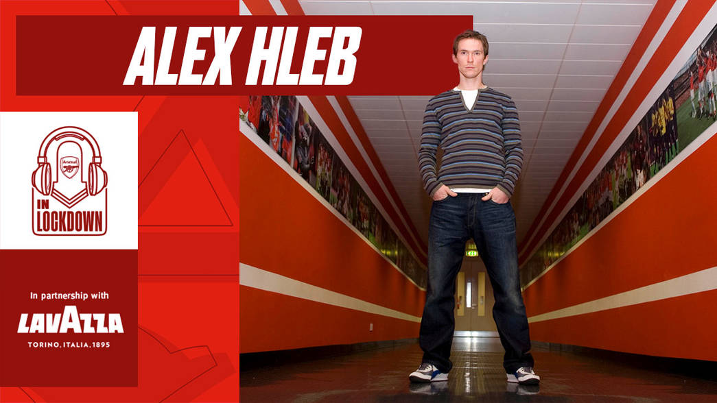 In Lockdown: Alex Hleb