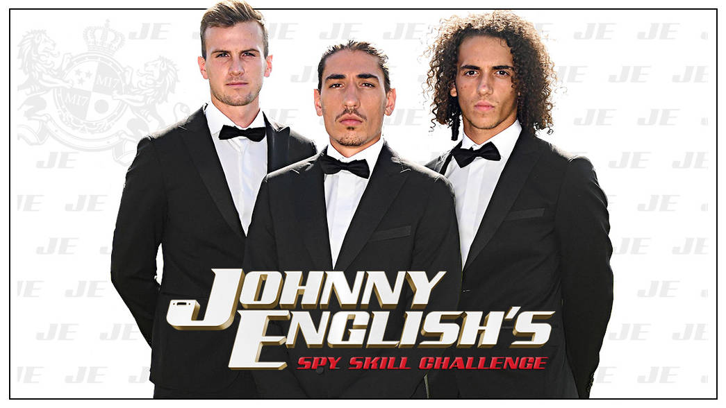 Johnny English Strikes Again Spy Skill Challenge The Club News Arsenal Com