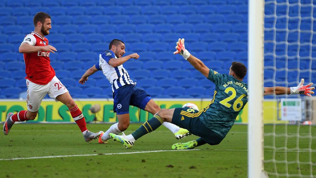 Brighton 2-1 Arsenal