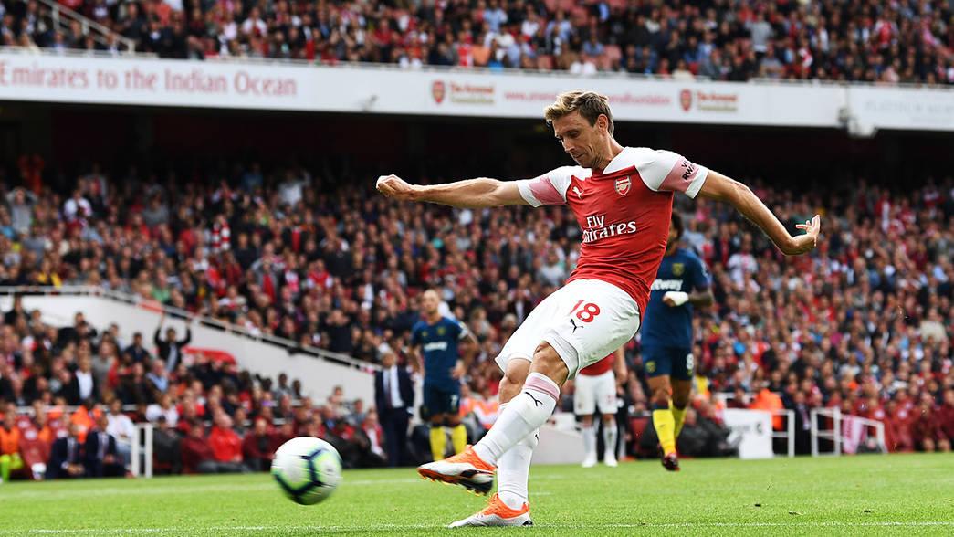 Arsenal 3-1 West Ham