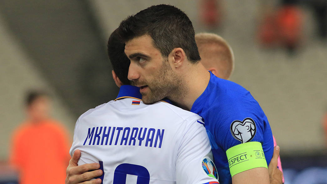 Mkhitaryan and Sokratis