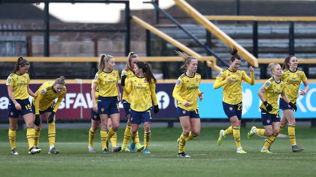 Everton Women 1 3 Women Match Report Arsenal Com