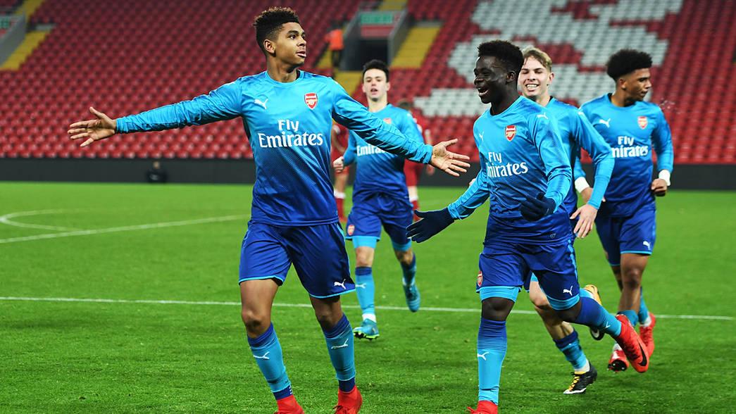 Tyreece John Jules Wallpaper: Six Gunners Called Up By England Under-17s