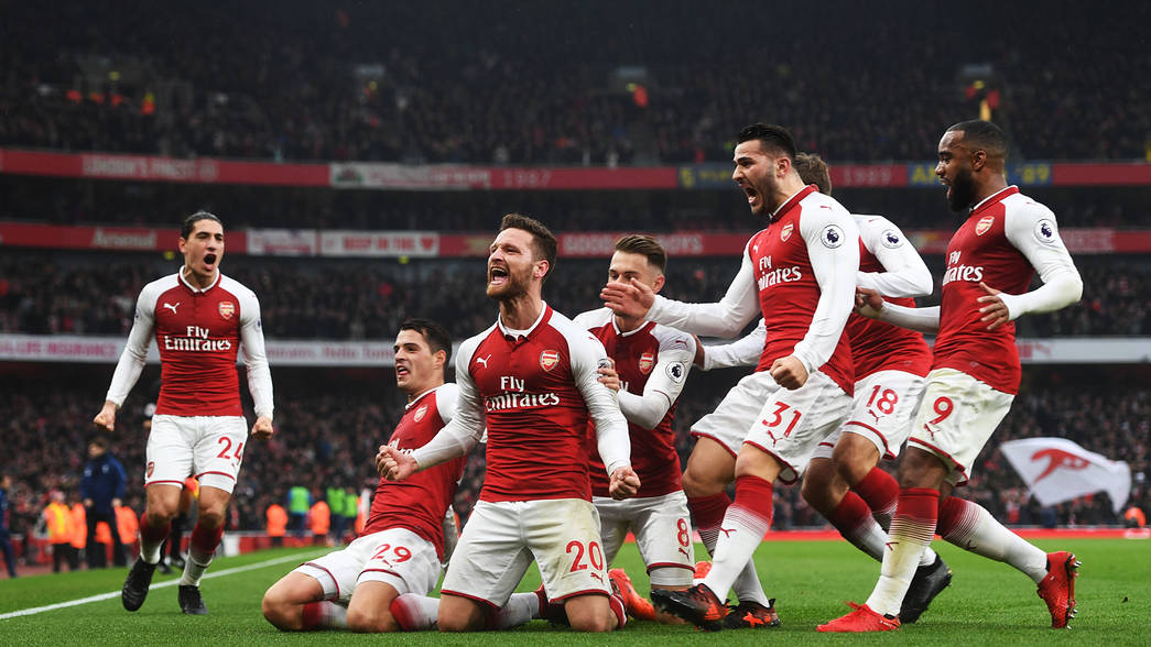 Image result for arsenal 2-0 tottenham