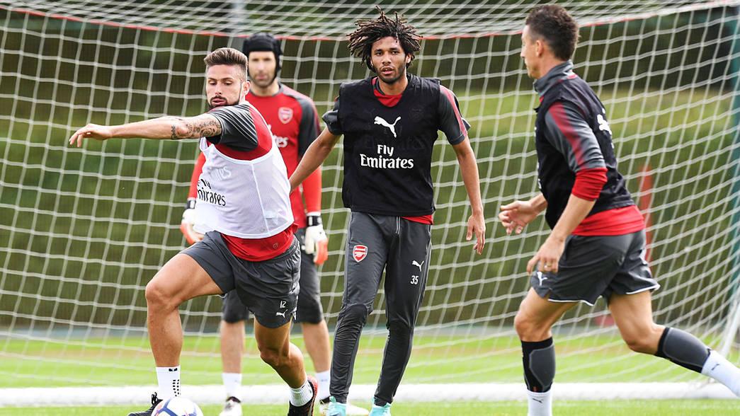 Arsenal 2017 Emirates Cup squad