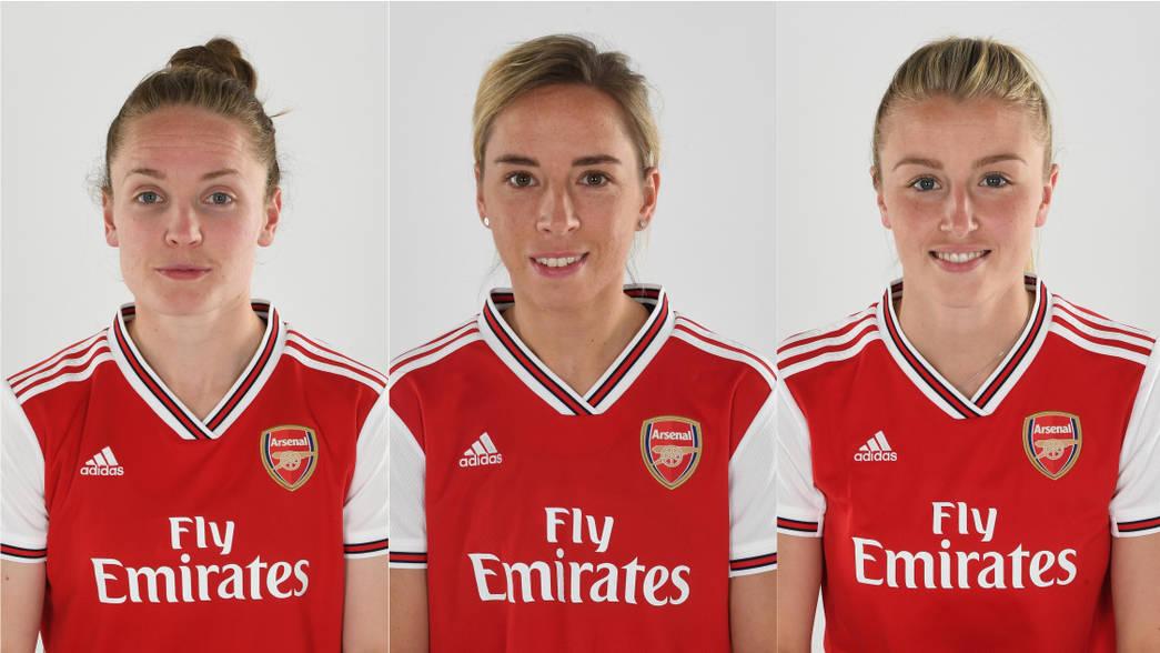 adidas Womens Arsenal FC Away Jersey 2019-20