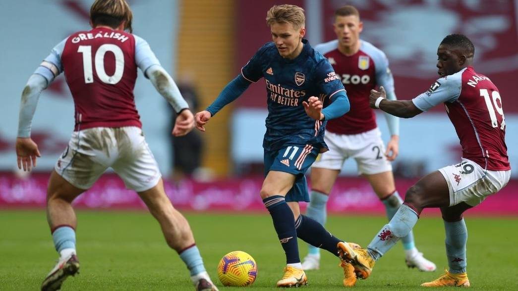 Aston Villa 1 0 Arsenal Match Report Arsenal Com