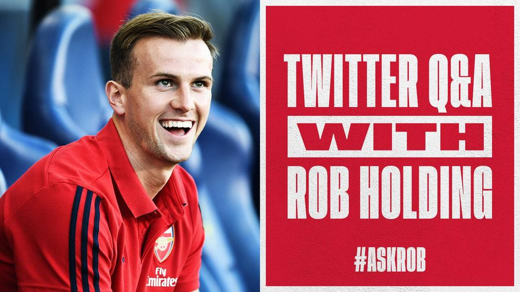 Rob Holding Twitter Q&A