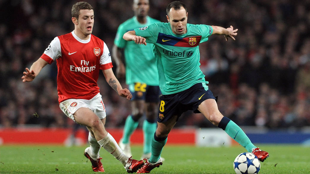 Wilshere on THAT Barcelona game in 2011   Podcast   News   Arsenal.com