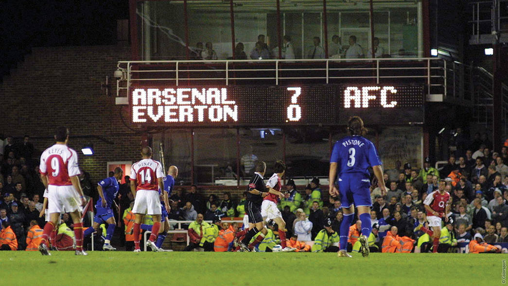 Arsenal 7-0 Everton - 2005