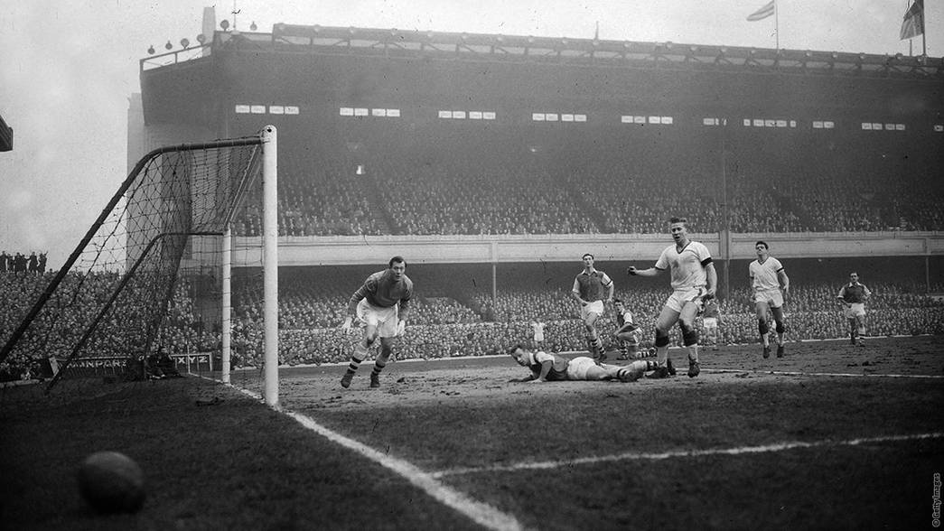 Arsenal 4-5 Manchester United - 1958