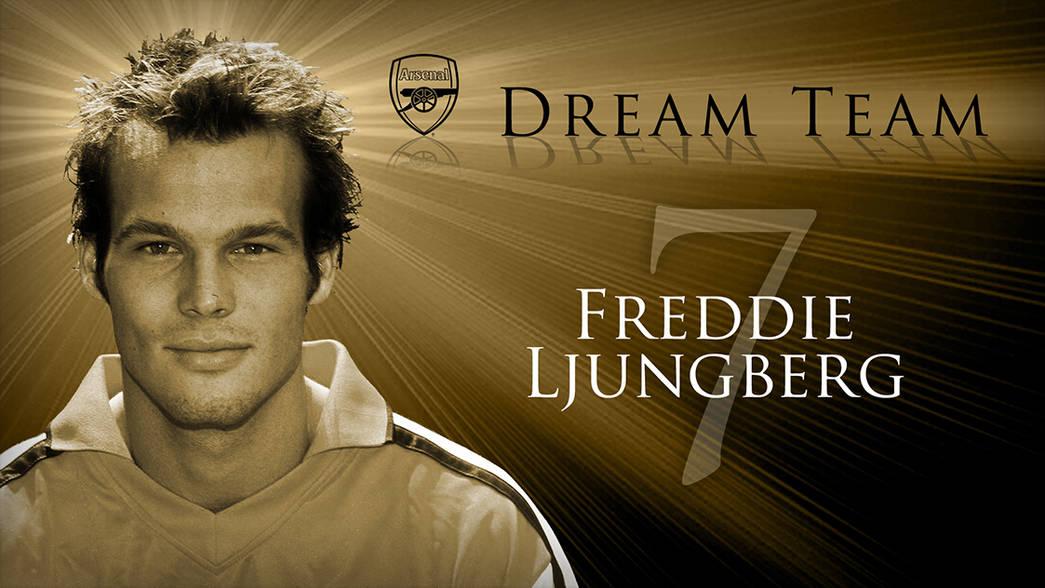 阿森纳梦之队:7。Freddie Ljungberg