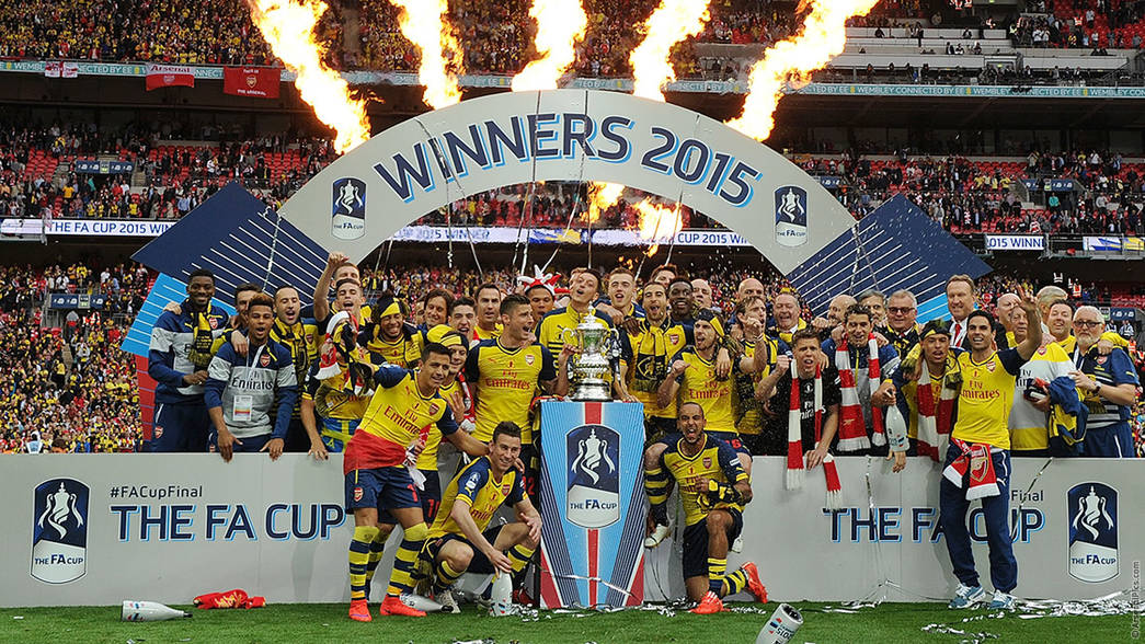 Three Fa Cup Wins In Four Years History News Arsenal Com