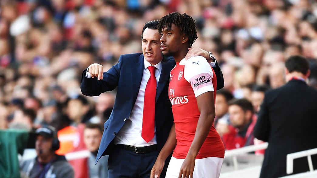 Alex Iwobi Arsenal Away Jersey