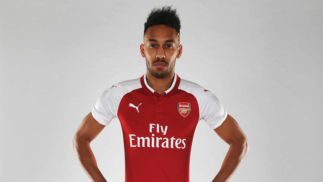 Pierre-Emerick Aubameyang Arsenal Home Jersey