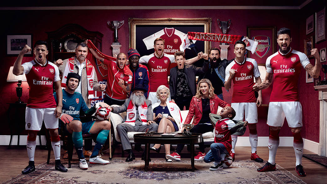 arsenal puma kit 2017