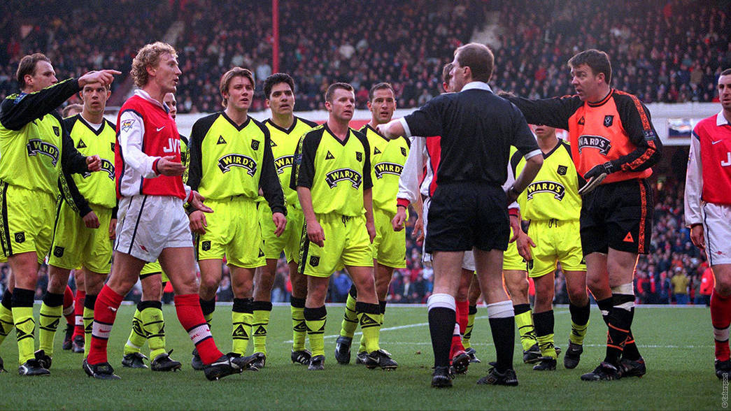 Arsenal v Sheffield United - 1999