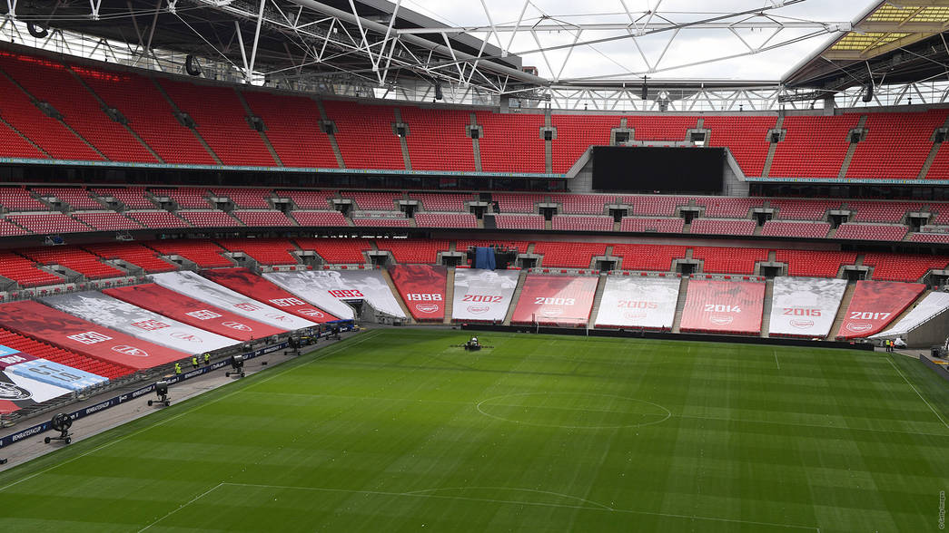 Wembley display for FA Cup semi-final