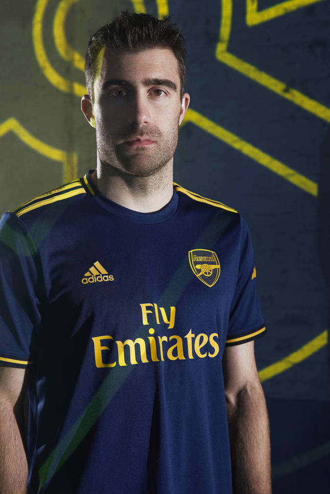 ???? The boys in our new adidas third kit   adidas x Arsenal   News ...