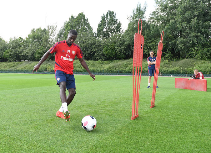 Image result for pepe trains arsenal