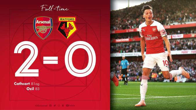Arsenal 2 Watford 0