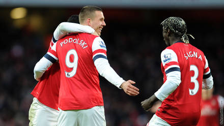 reputable site 19fb4 8852a Wenger - Podolski can spearhead attack | News | Arsenal.com