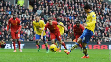 78e7bf06a 13 14  Liverpool 5-1 Arsenal - Mikel Arteta