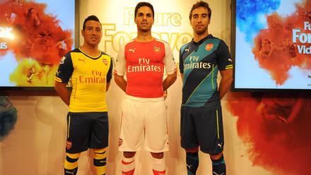 3f9c4c8b Arsenal and PUMA unveil three new kits | News | Arsenal.com